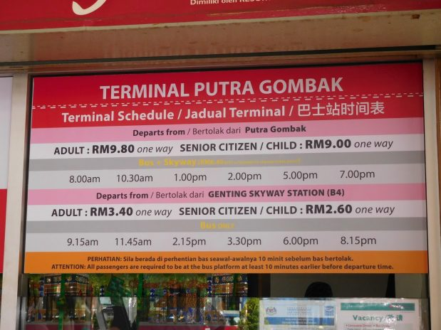 How To Choose The Best Bus To Genting