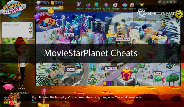 Hacking of Movie Star Planet: Things you have to know
