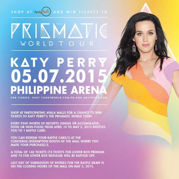 Get Katy Perry Tickets Today