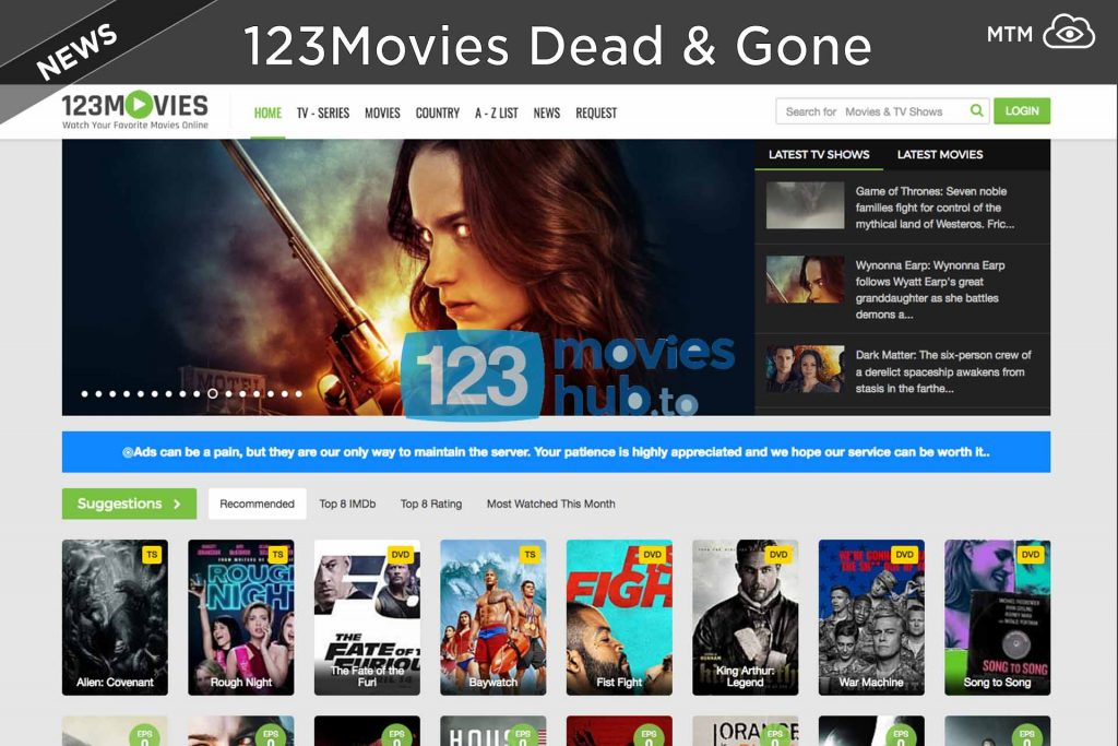 Great Time with Movie Streaming at 123Movies
